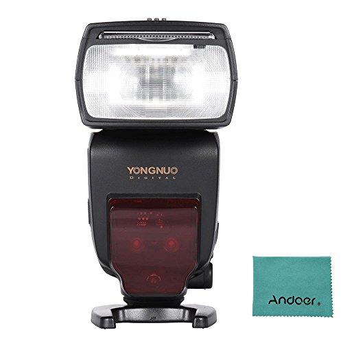 Yongnuo yn685I-TTL HSS 1/8000s GN602.4G Wireless Flash Speedlite Speedlight für Nikon D750D810D7200D610D7000D5500D5200D5300D3300D3200DSLR Kamera w/Andoer Reinigungstuch 2.4 G Wireless-lcd