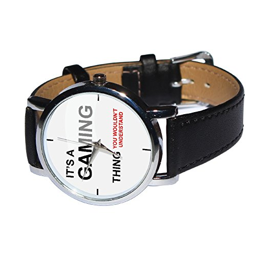 It 's a Gaming Thing Armbanduhr–HUMOR–Geschenk Armbanduhr–Gamer Geschenk–Geek Geschenk - 3