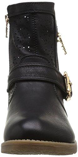 Xti  28040,  Stivali Donna Nero (Black (nero))
