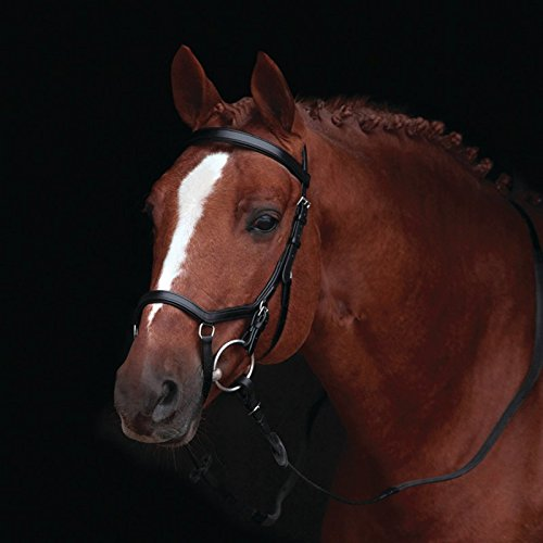 Rambo Micklem Competition Bridle WB bk