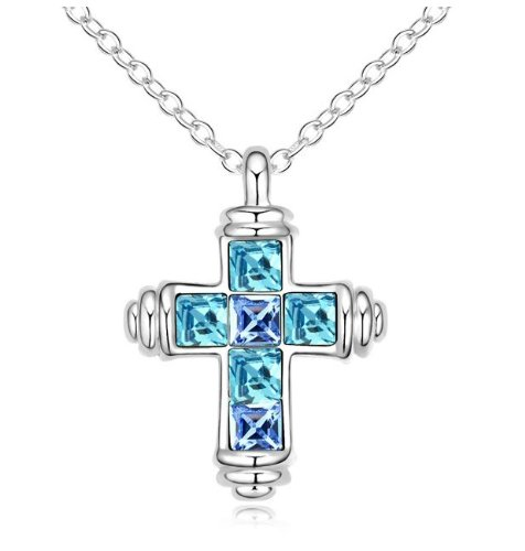 gosparking-aquamarine-blue-crystal-18k-white-gold-plated-alloy-cross-pendant-necklace-with-austrian-