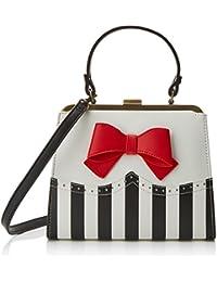 Yvette, Womens Shoulder Bag, Red, 9x29x25 cm (B x H T) Lola Ramona