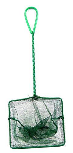 Kescher Aquarium Fisch Kaescher Fang Netz Aqua Fisch brailer Dip Net XL Fangnetze extra groß 22x18cm