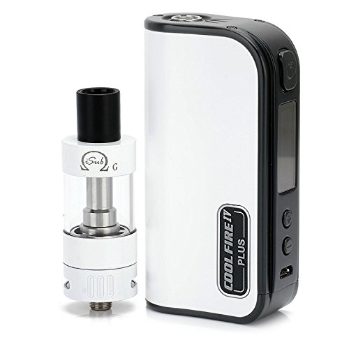 41yNUsIYWnL - GENUINE INNOKIN COOL FIRE IV PLUS 3300 mah w/ ISUB G 4.5 mL TANK (STORM EDITION) by Vaporcombo Reviews and price compare uk