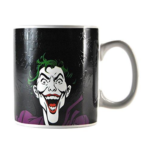 Batman Joker Half Moon Tasse mit Thermobecher