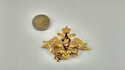 Armée Russe broches Cocarde Badge Soviétique Saint George Aigle broches URSS Chapeau Militaire kokarda Cosaque