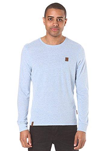 Herren Langarmshirt Naketano Italienischer Hengst Langen T-Shirt LS