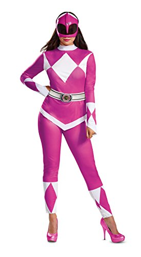 rs Pink Ranger Women's Fancy Dress Costume Large ()