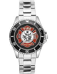 Artículos de regalo idea kiesberg bomberos del reloj para hombres reloj 1162
