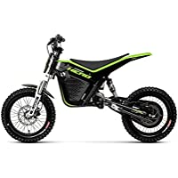 KUBERG Kinder Cross Hero Electric Dirt Bike, Black, M