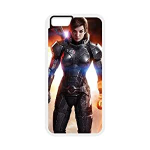 iPhone 6 Plus 5.5 Inch phone case White Mass Effect RRTM6148856