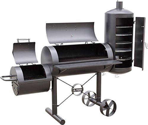 3 in 1 Holzkohle Smoker, Holzkohle Grill, Räucherofen (000312)