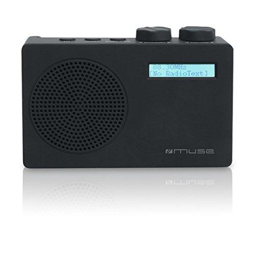 Muse M-100 DB Radio Numérique DAB+ Noir