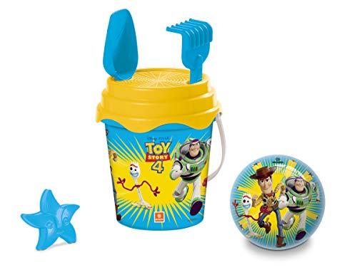 Mondo-28530 Toy Story - Juego de Cubo de Playa, Color Azul y Verde, 28530
