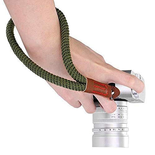 Digitale Tracolla Fotocamera Morbido Cotone Cinturino da polso Vintage Spalla Cinghia Reflex Per Mirrorless e Fotocamere DSLR.