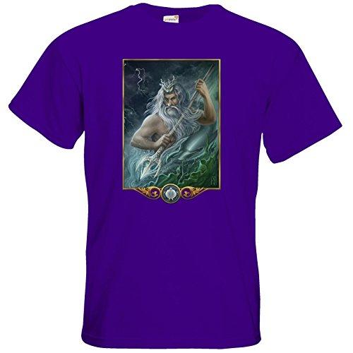 getshirts - Das Schwarze Auge - T-Shirt - Götter - Efferd Purple