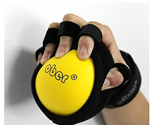 Dépistage à la main de la bouche précoce Finger Squeeze Ball Rehabilitation Exercise Therapy Support de poignet