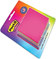 """Post-it Cube - 4 Color sticky Notes (4x50 sheets , 3"""""""