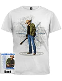 Old Glory Jason Aldean - Ripped Jeans 2010 Tour T-Shirt