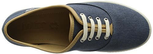 Hotter Mabel EXF, Scarpe Stringate Oxford Donna Blue (Blue River)