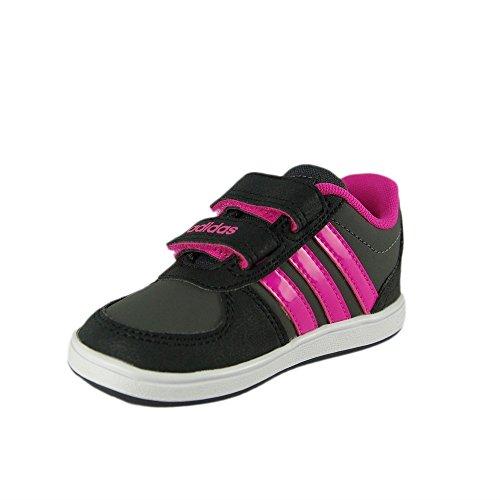 adidas Vs Hoops Cmf Inf, Scarpe da Ginnastica Unisex – Bambini Grigio ( Grpudg/Rosimp/Negbas)