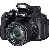 Canon PowerShot SX70 HS (20,3 Megapixel, 65fach optischer Zoom, Dreh- und schwenkbares 7,5cm LCD, WLAN, 4K-Video)