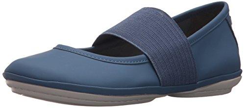CAMPER Damen Right Nina Mary Jane Halbschuhe, Blau (Medium Blue 420), 37 - Frauen Für Camper Schuhe