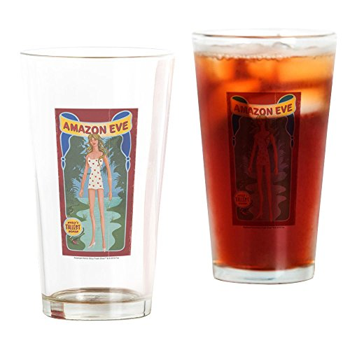 CafePress AHS Freak Show Amazon Eve Pint-Glas farblos