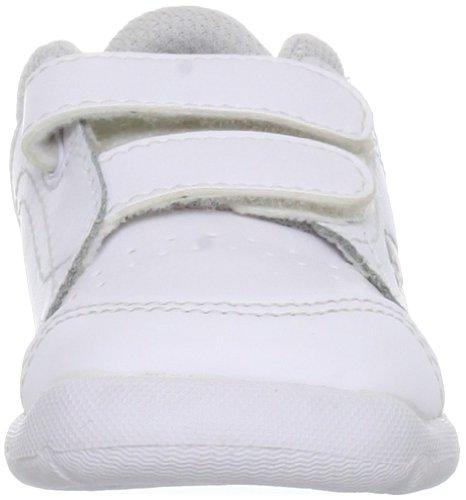 Puma Enfants Stepflex Blanc Gris Désinvolte Formateurs white