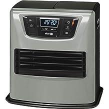 Zibro Lc 400 Stufa a Combustibile Elettronica, portatile, 4000 W, Argento/Nero, da 26m2-70m2, senza installazione, termostato regolazione settimanale (Ricondizionato Certificato)