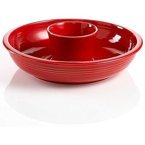Fiesta Chip and Dip Set Color Scarlet