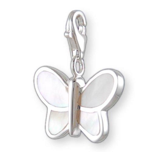 Melina Damen-Charm Anhänger Schmetterling 925 Sterling Silber 1801217