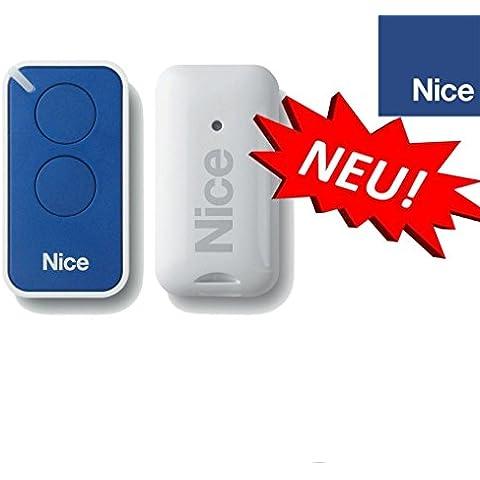 Nice INTI2B Mando a distancia original para puertas automáticas, 2 botones, 433,92 MHz, rolling code!!!