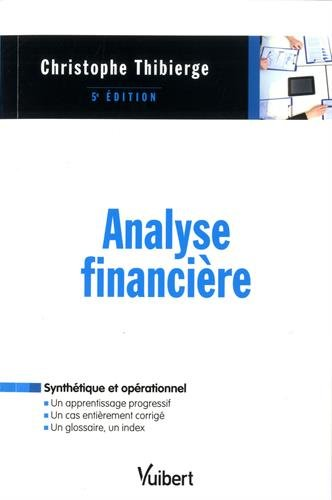 Analyse financire - Licences, Masters, Cadres en formation continue