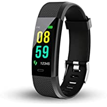 Frittle DW31 ID115 Bluetooth Fitness Band Smart Tracker with Heart Rate Sensor Activity Tracker Waterproof Body Functions(Random Colour)