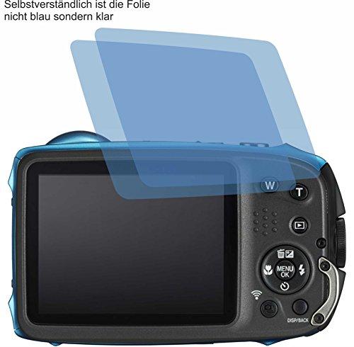 2x ANTIREFLEX matt Schutzfolie für FujiFilm FinePix XP130 Displayschutzfolie Bildschirmschutzfolie Schutzhülle Displayschutz Displayfolie Folie