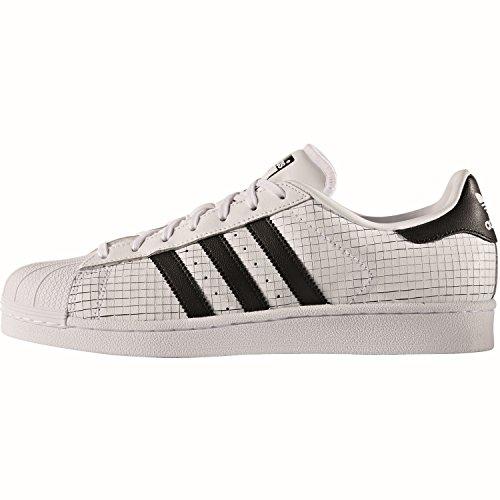 Adidas Superstar Ii Uomo Sneaker Bianco bianco nero