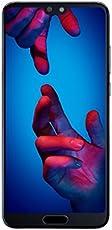 HUAWEI P20 Smartphone (14,7 cm (5,8 Zoll), 128GB interner Speicher, 4GB RAM, 20 MP Plus 12 MP Leica Dual Kamera, Android 8.1, EMUI 8.1) Blau