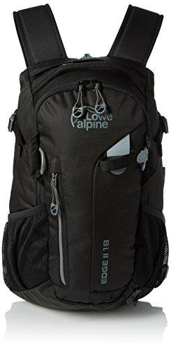 lowe-alpine-edge-ii-18-mochila-con-cierre-de-cremallera-43-x-22-x-20-cm-color-negro