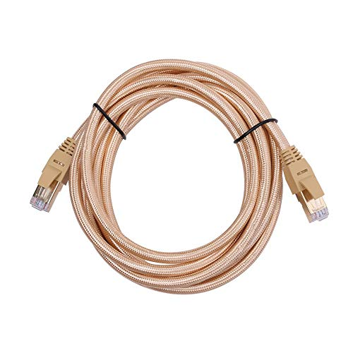Praktisches, langlebiges, vergoldetes, geschirmtes CAT7-U/FTP-Ethernet-RJ45-Netzwerk-Patchkabel mit hoher Leistung - 6 Geformt Ethernet-patch-kabel