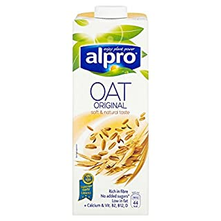 Alpro Oat Original U.H.T 1L (Pack of 8 x 1ltr)