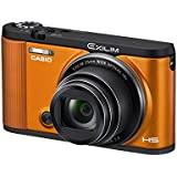 CASIO digital camera EXILIM EX-ZR1600EO SELF PORTRAIT tilt LCD front shutter Wi-Fi / Bluetooth equipped with Orange