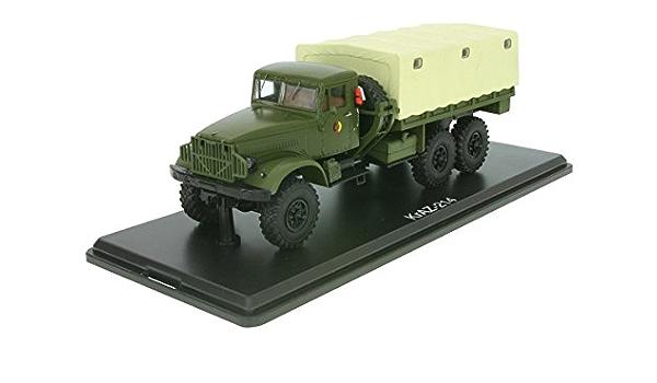 Kraz 214 Oliv Nva 0 Modellauto Fertigmodell Premium Classixxs 1 43 Spielzeug