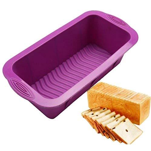 Meatloaf und Brot Pfanne | Gourmet Antihaft-Silikon Backen | für Backen Banana Brot, Meat Loaf, Pfund Kuchen | 24,9cm BPA-frei, die von Silikon -