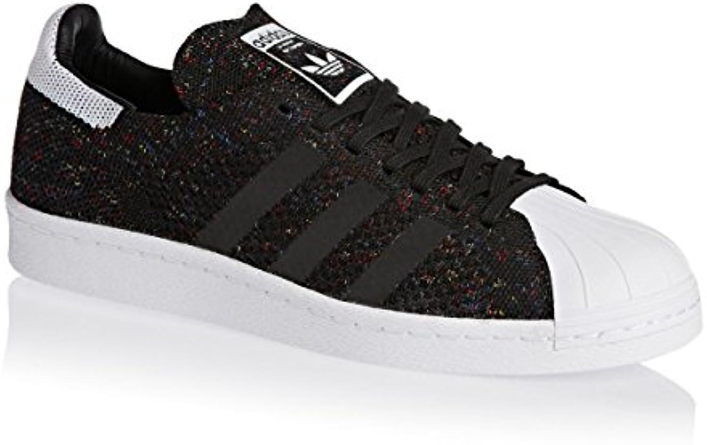 adidas Superstar 80's Primeknit Herren Sneaker Schwarz -