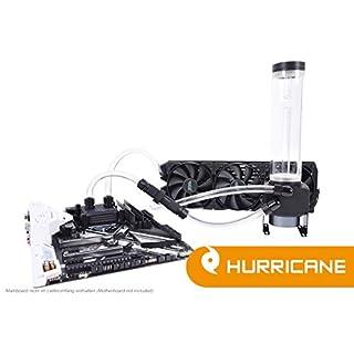 Alphacool 11469 Eissturm Hurricane Copper 45 3x120mm - Komplettset Wasserkühlung Sets und Systeme