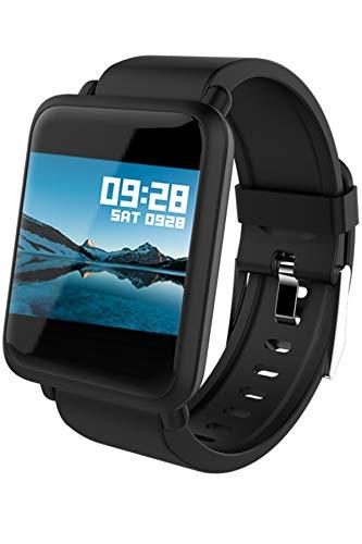 Smartwatch Damen Herren iOS Android Bluetooth Fitness Armband Farbdisplay Pulsmesser Blutdruck Schlafüberwacher Activity Tracker