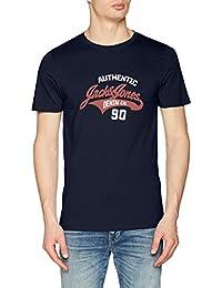 Jack & Jones Men's Jjelogo Tee Ss Crew Neck Two Color Noos T-Shirt