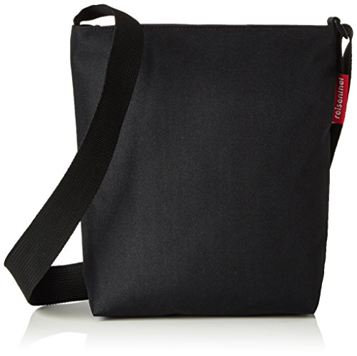 reisenthel shoulderbag S black Maße: 29 x 28,5 x 7,5 cm / Volumen: 4,7 l