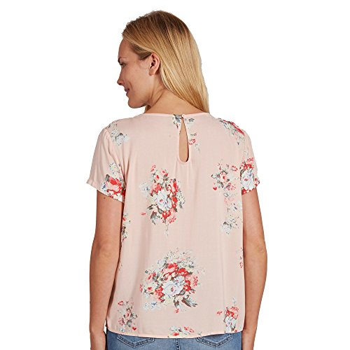 Only Onlfirst SS Mix AOP Top Noos Wvn, Camicia Donna Multicolore (Peach Whip Aop: Flowers)